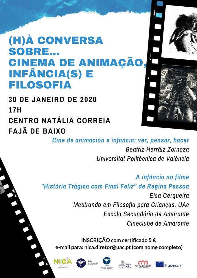 Cinema de Animação, Infância(s) e Filosofia (Univ. Açores)