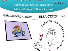 """Enquadrados a Live"" Marcos Magalhães convida Elsa Cerqueira"