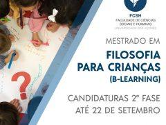 Mestrado em Filosofia para Crianças – Universidade Açores